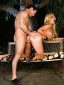 Xhamsters Com - Stunning Blonde With Big Tits Strips Outdoor To