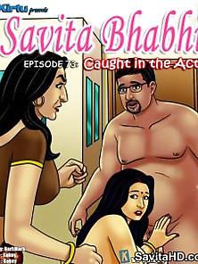 Savita Bhabhi Episode 73 Caught In The Act
