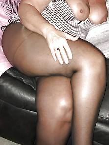 Gambe Sexy Di Donna Matura