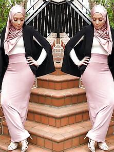 Turbanli Hijab Arab Turkish Asian