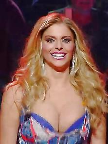 Caduta Libera Upskirt Italian Tv Francesca Cipriani