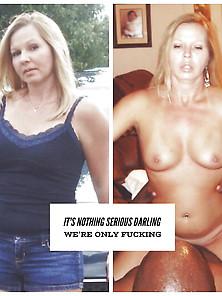 Dressed Undressed Interracial Cuckold Hotwife Queen Spades2