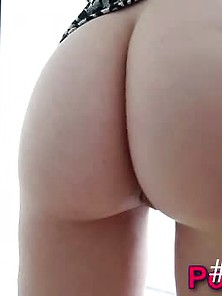 Booty Teen Sucks Pov