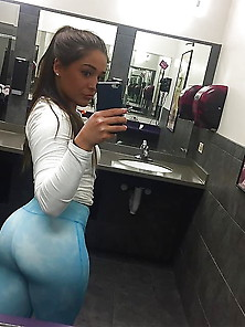 Big Booty Tanned Babe Abbi