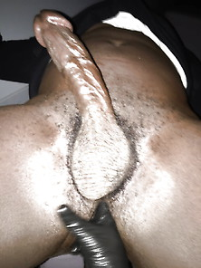 Femdom Fingering Fist Anal With Black Muscular Sub Big Dick