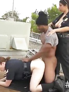 Milf Anal Spit Roast Break-In Attempt Suspect Has To Drill His W