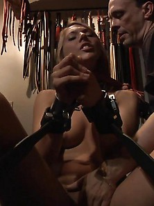 Bondage Girl Punished In Silence