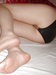 Feet And Legs In Nylons 1
