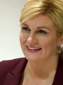 Grabar-Kitarovic  nackt Kolinda President of