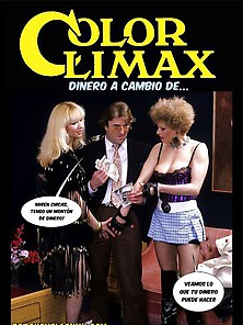 Vintage Comic Color Climax