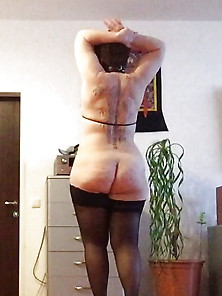 German Amateur Bbw Milf Loves To Show Chubby Body