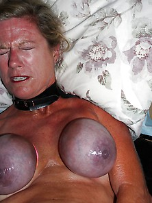 Hard Tied Bid Tits Wife Amateur Slave Bondage Submilf