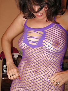 Got Milf Torrida The Latina Milf In Her Purple Fishnet Seduction