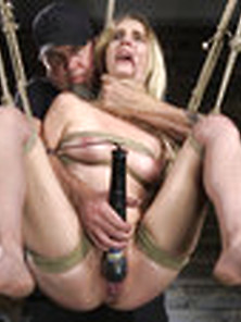 All Natural Cadence Lux Agony In Rope Servitude And Squirting Or
