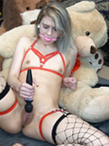 Lunalamb Plays With Her Toys Via Altporn. Net