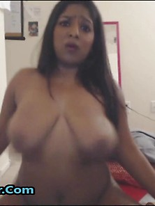 Busty Indian Mommy Ready For Waterfall Squirt