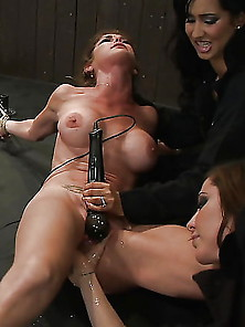 Bound To Cum 2 (Bondage,  Vibrators,  Beds)