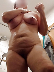 Hidden Cam - My Wife Exposed After Shower